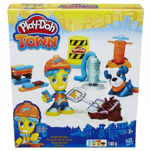 Набор пластилина Play-Doh Житель и питомец в ассортименте B3411