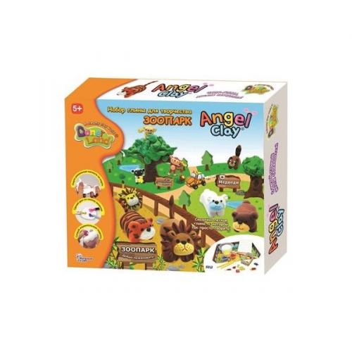 Глина для детского творчества Зоопарк AA12071