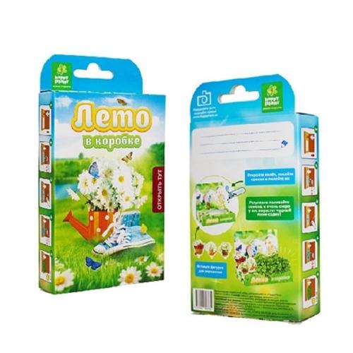 Подарочный набор для выращивания Живая открытка Лето в коробке hps-239