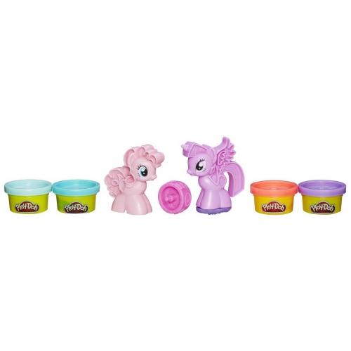 Набор пластилина Play-Doh Пони. Знаки отличия B0010