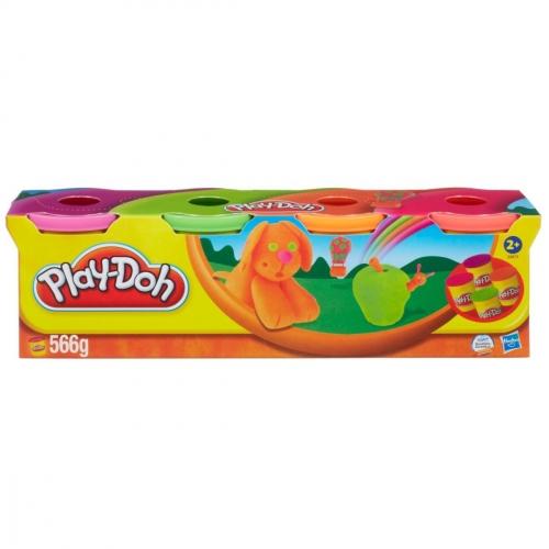 Набор пластилина Play-Doh, 4 баночки, в ассортименте 22114