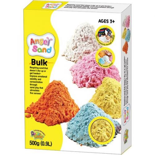 Песок для творчества Angel Sand, 900г, цвет желтый MA07012