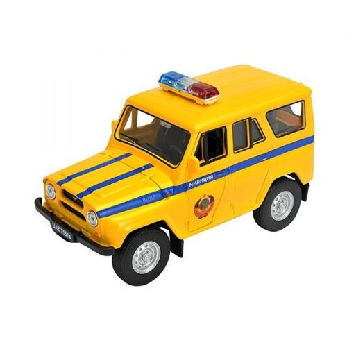 Коллекционная модель машины УАЗ 31514. Милиция 1:34-39 42380RT