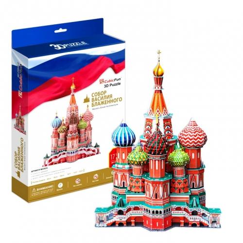 3D-пазл Собор Василия Блаженного MC093h