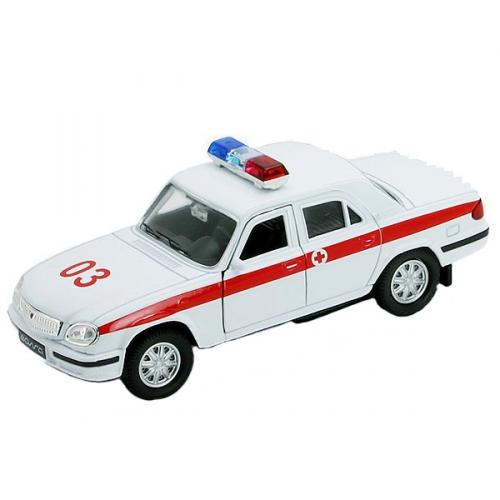 Коллекционная модель машины Волга. Скорая помощь 1:34-39 42384AE