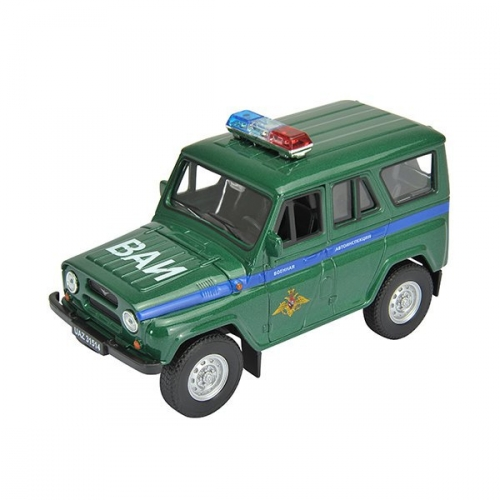 Коллекционная модель машины УАЗ 31514. Военная автоинспекция 1:34-39 42380MC
