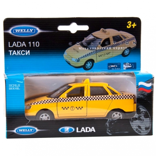Коллекционная модель машины Lada 110. Такси 1:34-39 42385TI