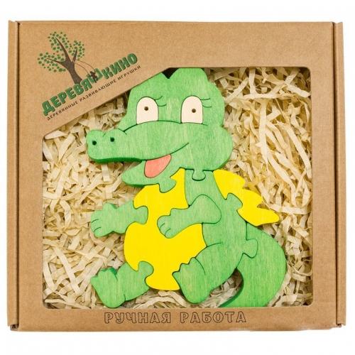 Развивающая игрушка Крокодильчик 624
