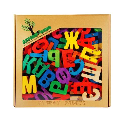 Головоломка на магнитной доске Азбука 105