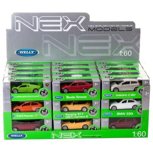 Коллекционная модель машины 1:60, в ассортименте 52020D
