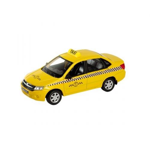Коллекционная модель машины Lada Granta. Такси 1:34-39 43657TI