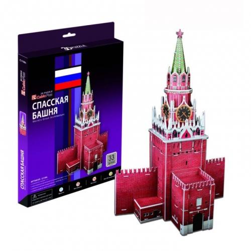 3D-пазл Спасская башня C118h