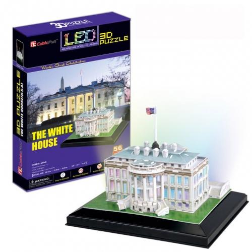 3D-пазл Белый дом с иллюминацией L504h