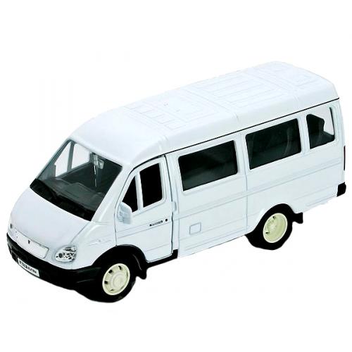 Коллекционная модель машины ГАЗель пассажирская 1:34-39 42387A
