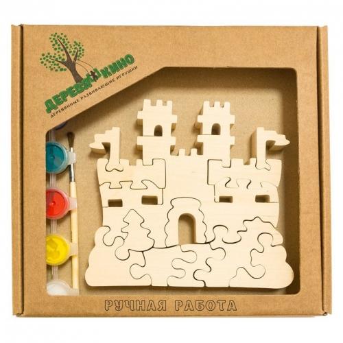 Развивающая игрушка Замок с башнями с красками 665