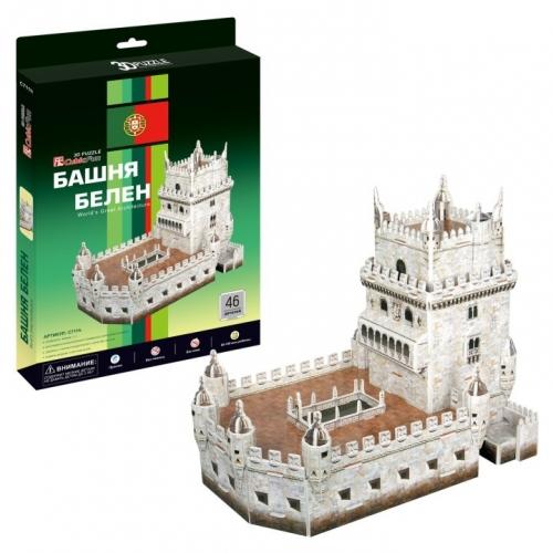 3D-пазл Башня Белен C711h