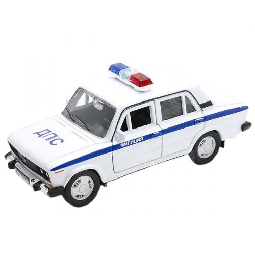Коллекционная модель машины Lada 2106. Милиция 1:34-39 42381PB