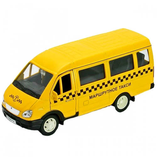 Коллекционная модель машины ГАЗель. Такси 1:34-39 42387ATI