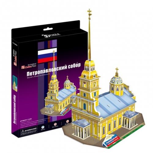3D-пазл Петропавловский собор C140h