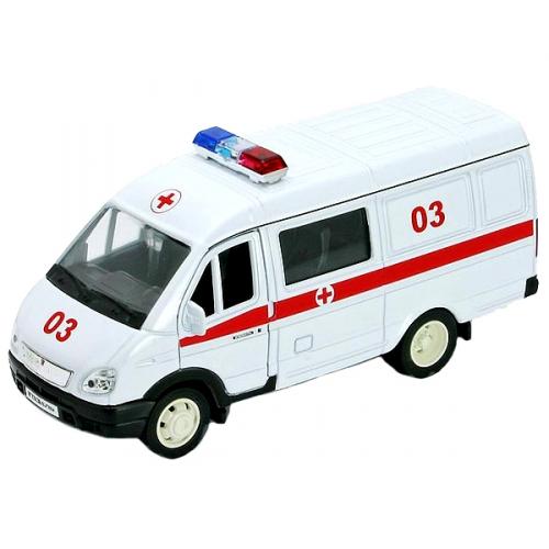 Коллекционная модель машины ГАЗель. Скорая помощь 1:34-39 42387BAE