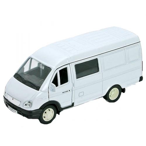 Коллекционная модель машины ГАЗель. Фургон с окном 1:34-39 42387B