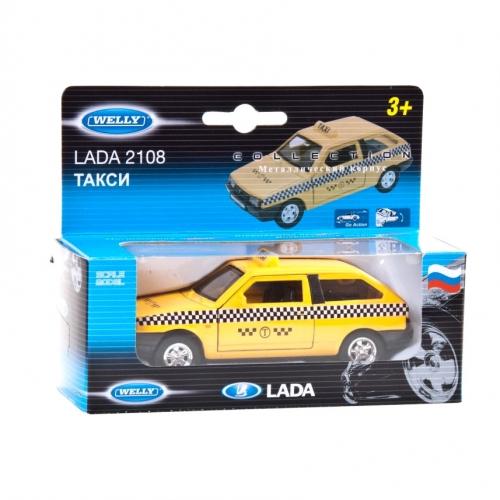 Коллекционная модель машины Lada 2108. Такси 1:34-39 42377TI