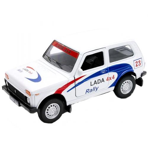 Коллекционная модель машины Lada 4x4. Rally 1:34-39 42386RY