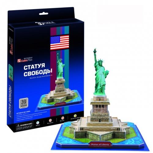 3D-пазл Статуя Свободы C080h