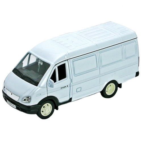 Коллекционная модель машины ГАЗель. Фургон 1:34-39 42387C