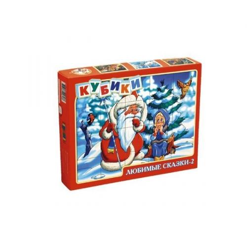 Набор кубиков Любимые сказки 2 00617