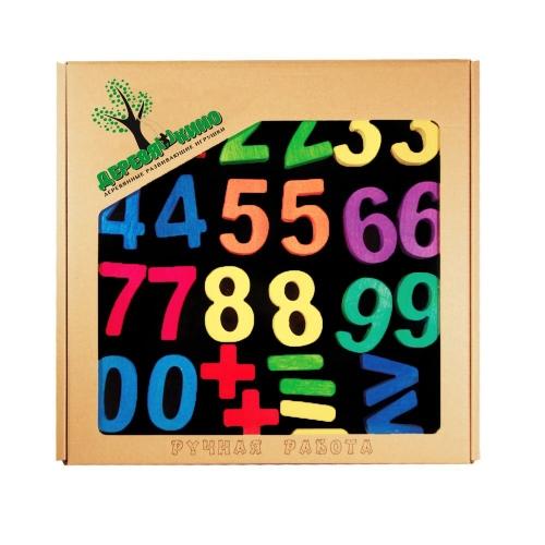 Головоломка на магнитной доске Цифры 104