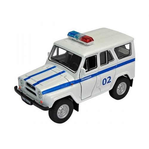 Коллекционная модель машины УАЗ 31514. Полиция 1:34-39 42380PB