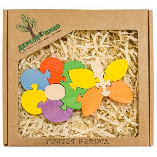 Развивающая игрушка Цветок с бабочкой 283