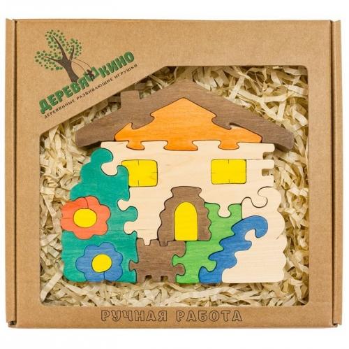 Развивающая игрушка Домик с цветами 565