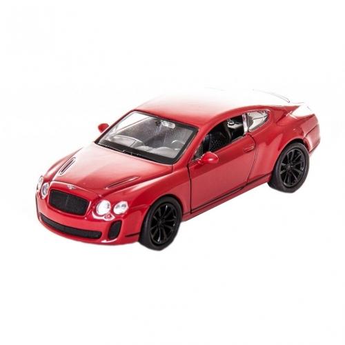 Коллекционная модель машины Bentley Continental Supersports 1:34-39 43623