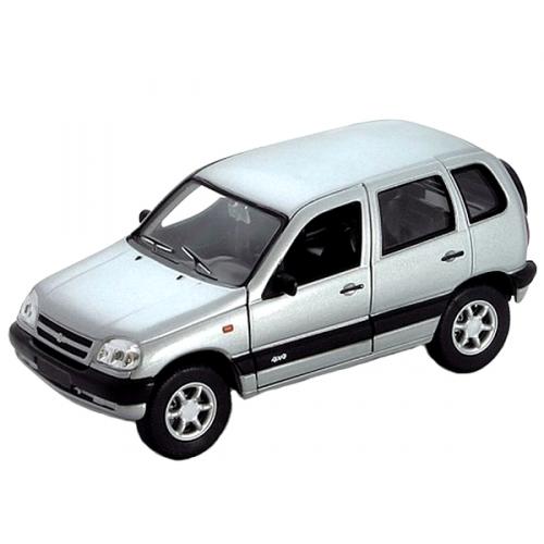 Коллекционная модель машины Chevrolet Niva 1:34-39 42379