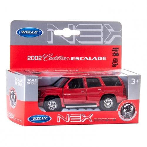 Коллекционная модель машины 2002 Cadillac Escalade 1:34-39 42315
