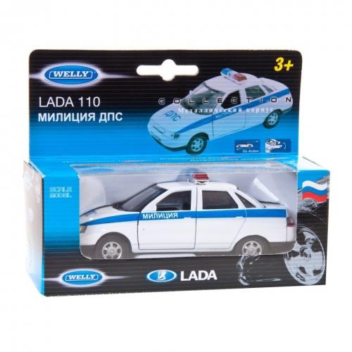 Коллекционная модель машины Lada 110. ДПС 1:34-39 42385PB
