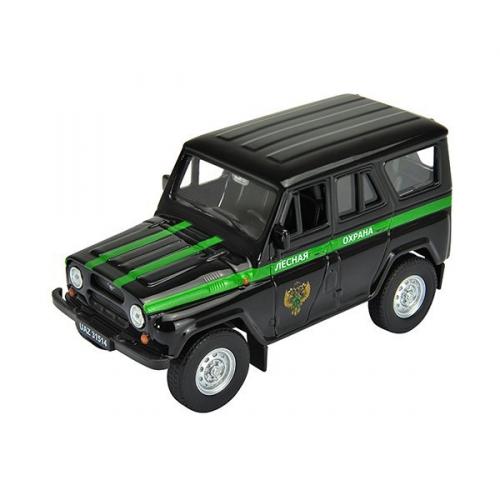 Коллекционная модель машины УАЗ 31514. Лесная охрана 1:34-39 42380FC