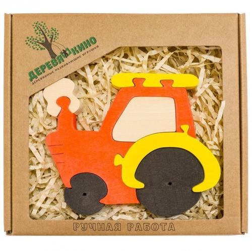 Развивающая игрушка Трактор 628