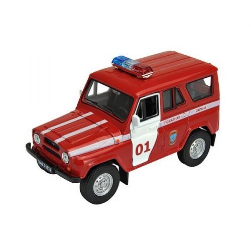 Коллекционная модель машины УАЗ 31514. Пожарная охрана 1:34-39 42380FS