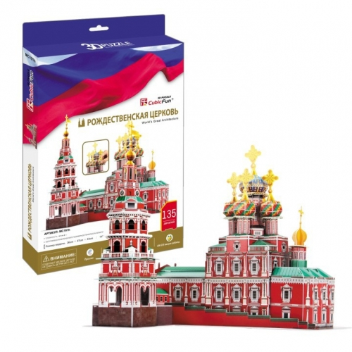 3D-пазл Рождественская церковь MC191h