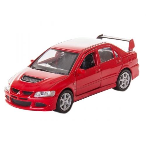 Коллекционная модель машины Mitsubishi Lancer Evolution VIII 1:34-39 42338
