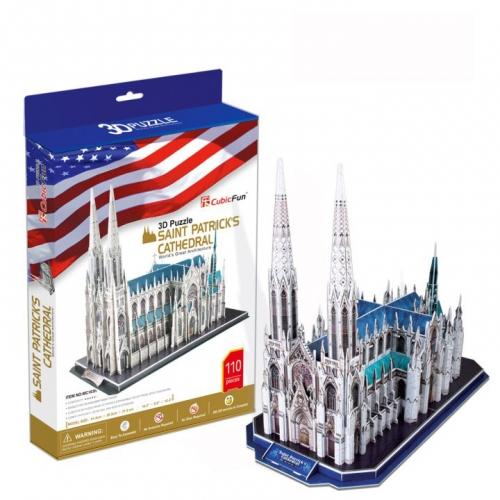 3D-пазл Собор Святого Патрика MC103h