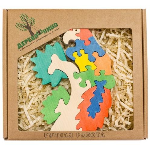 Развивающая игрушка Попугай на ветке 576