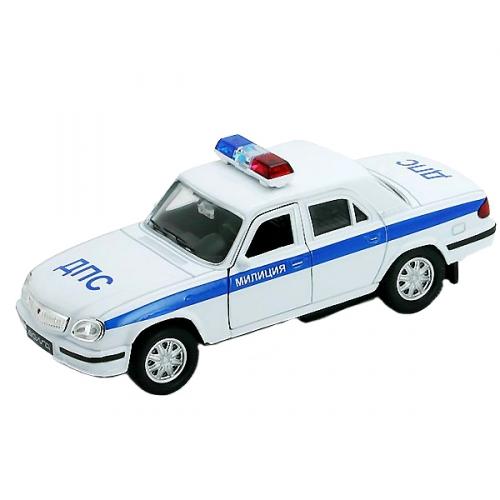 Коллекционная модель машины Волга. ДПС 1:34-39 42384PB
