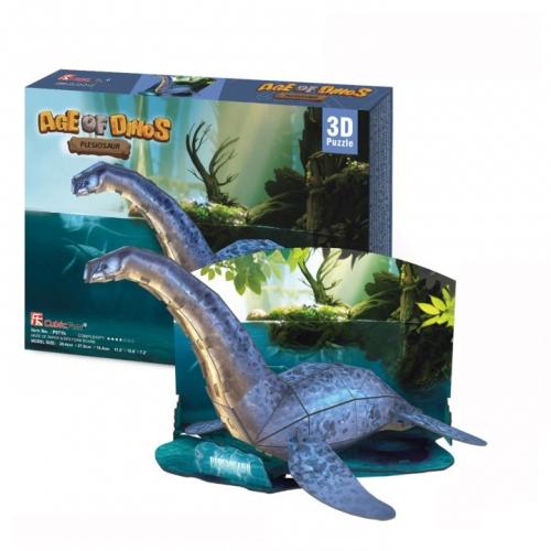 3D-пазл Эра Динозавров. Плезиозавр P671h