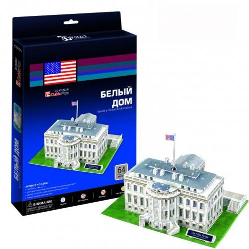 3D-пазл Белый дом C060h