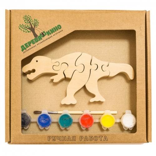 Развивающая игрушка Тираннозавр Рекс с красками 676
