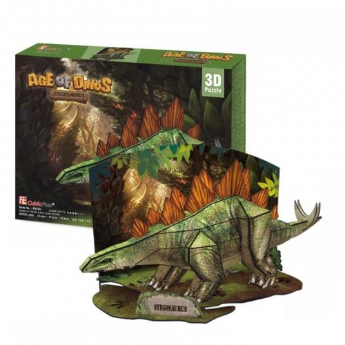 3D-пазл Эра Динозавров. Стегозавр P670h